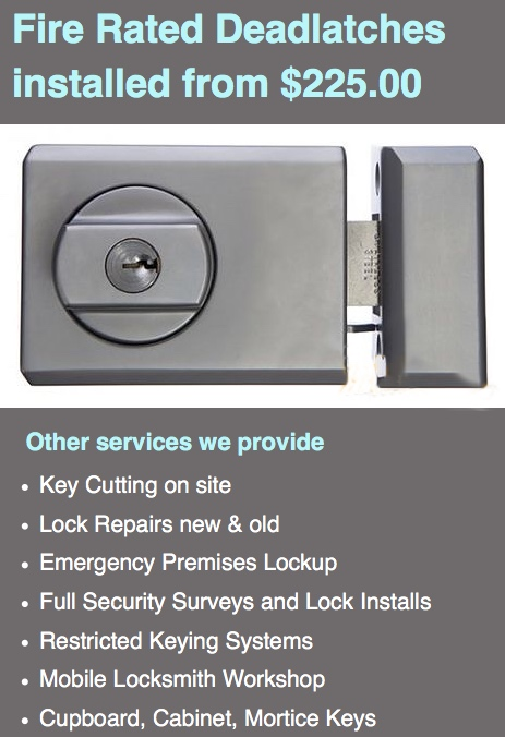 Glebe point Locksmiths service